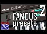Booker T's organ meets Tina Turner's flute | Yamaha DX7 demo | Famous sounds [02]