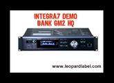 【DEMO】Roland Integra7 GM bank HQ demo