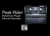 Introduction to Peak Rider: Sidechain Dynamic Envelope Processor