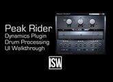 Drum Processing Overview with Peak Rider (ft. developer Zach Hughes)