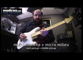 Test Woodbrass : La Fender Stratocaster Mexican Jimi Hendrix signature Olympic White