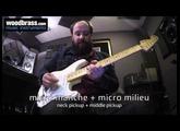 Test Woodbrass : La Fender Stratocaster Mexican Jimi Hendrix signature Olympic White