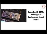 Superbooth 2017: Behringer D Synthesizer Sound Demo