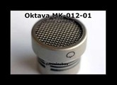 Oktava MK-012-01 Sound Samples (choir, grand piano, violin, acoustic guitar, drums, male speach)