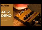 AD-2  Acoustic guitar pedal preamp/DI Official Demo