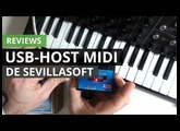 Review de USB Host MIDI: conexiones MIDI DIN para equipos USB MIDI