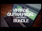 Vintage Guitar Pedal Native Plug-in Bundle (Official Product Video)