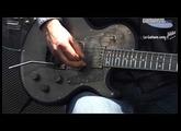 MusikMesse 2012 - Trussart SteelTop Antique Silver Gator Pickguard par Brice Delage