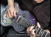 """iVee Guitars: iVee#47 """"Parlour"""" elc2"""