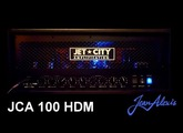 Jet City Amplification - JCA 100 HDM - Unboxing, Soundcheck.