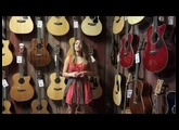 Martin D JR 2E Junior Acoustic Electric Guitar Demo with Maria