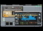 AAS Sturm GS- 2 and UVI Relayer: Experimentations