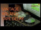 Vintage Roland Tape Delay - The RE-301 Chorus Echo