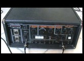 Vintage 1980s Roland RE-501 Chorus Space Echo tape delay - quick demo