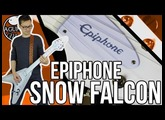 Epiphone Snow Falcon Demo || White Dethklok Guitar!!