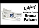 Brendon Small Epiphone Snow Falcon | Metal
