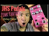 JHS Pink Panther digital/tape delay pedal - demo by RJ Ronquillo