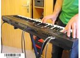 Roland Alpha Juno 2 Analog Synthesizer + Oberheim Cyclone Arpeggiator