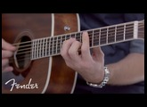 Fender PM-1 Standard Dreadnought All-Mahogany NE | In-Depth Look | Fender