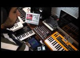 Synth Jam 30: Zoom MS-70CDR (Chorus, Delay and Reverb) with DSI Mopho synth