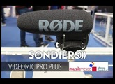 EXCLU RODE VIDEOMIC PRO PLUS [MUSIKMESSE 2017][FR]