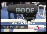 EXCLU RODE VIDEOMIC PRO PLUS [MUSIKMESSE 2017][FR]