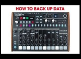 How To Save Memory & Backup Patterns: Arturia Drumbrute