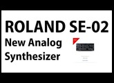 New Roland Analog Synthesizer Roland SE-02