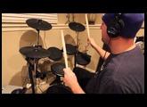 Alesis DM6 USB eDrums + NI Studio Drummer Quick Demo