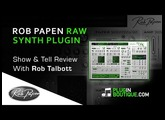 Rob Papen RAW Synth Plugin - Overview