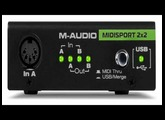 M-Audio Midisport 2X2 Anniversary Edition USB MIDI Interface