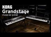 Le piano de scène KORG GrandStage (vidéo de La Boite Noire)