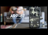 Walrus Audio ARP-87 Multi Function Delay Tech Demo