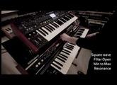 Behringer DeepMind 12 comparison with Roland Juno 60