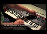 """Recreating the OB-X """"Tom Sawyer"""" Filter Sweep on a Dave Smith OB-6"""