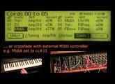 Experiment with modular synth pulse samples on E-MU E5000