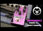 Pigtronix Mothership 2 Analog Guitar Synthesizer Demo by Teddy Kumpel - Summer NAMM Debut