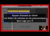 Ajuster finement les volumes et panoramiques dans Logic pro