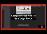Réorganiser les Plug Ins audio Units dans Logic pro X