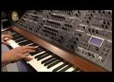 Nova Musik - Schmidt 8 Voice analog polyphonic synthesizer at NAMM 2014