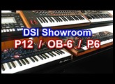 Dave Smith Instruments (DSI) - Showroom + Prophet 12 / OB-6 / Prophet 6 【SYNTH DEMO】