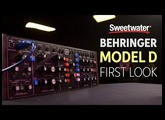 Behringer Model D Analog Synthesizer Module Review