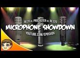 ULTIMATE MIC SHOWDOWN | RE20 vs RE320 vs Rode Procaster (Mic Comparison & Review)