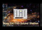 Boss GX-700 Guitar Processor Bank/Patch Editor