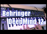behringer DeepMind12 Demo & Review