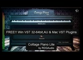 Free Piano Plugins RDGAudio Cottage Piano Lite First Look VST AU Mac  plugins FREE Download 2017