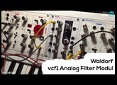 Music nStuff @ SuperBooth 2017: Waldorf VCF 1 Analogue Filter Module