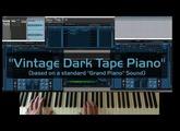 Blue Cat's Late Replies - Vintage Dark Tape Piano Sound