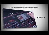 KORG Pa1000:  more power - new arranger keyboard from KORG