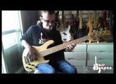Bass Hunter; Sadowsky M5 made in Japan